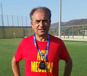 Antonio Venuto è l'allenatore dell'Acr Messina