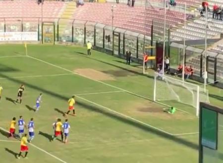 Messina-Gela 1-1, due punti persi dai biancoscudati