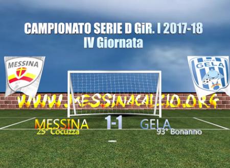 Gli highlights di Messina-Gela