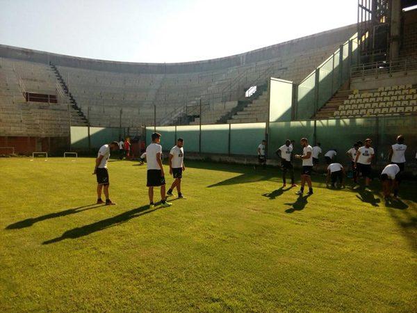 I 23 calciatori convocati per Messina-Troina
