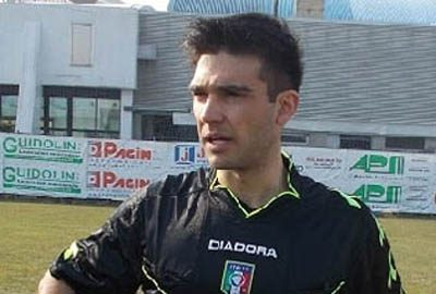 Marco Monaldi di Macerata arbitrerà Messina-Vibonese