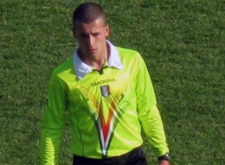Michele Giordano di Novara arbitrerà Messina-Acireale