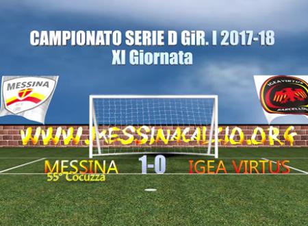 Gli highlights di Messina-Igea Virtus 1-0