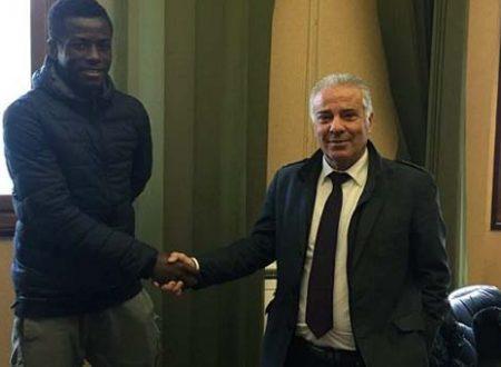 Il Messina ha ingaggiato l'attaccante ghanese Yeboah