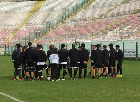 I calciatori del Messina convocati per la partita contro la Vibonese