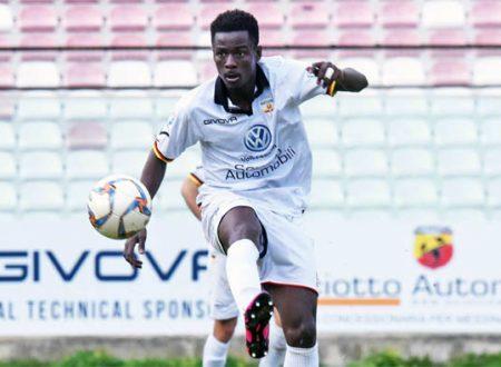 Torna in Ghana il centravanti David Yeboah