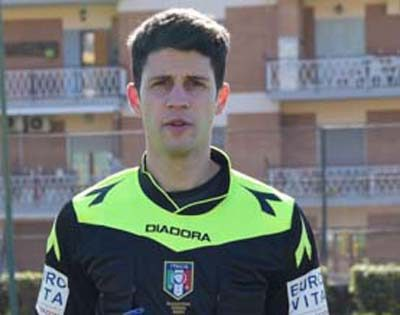 Augusto Quattrociocchi diLatina è l'arbitro designato per Sancataldese-Messina
